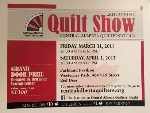 Quilt show Mar 31 2017